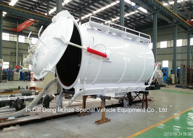 China Customized Cabon Steel Vaccum Tank Body For Vaccum Sewage Truck 4 - 20 M3 distributor