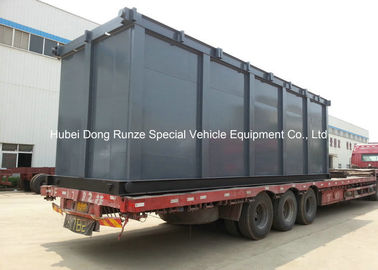 China Skid Mounted 70000L Acid Storage Tank Steel Lined PE For Oilfield Storage distributor