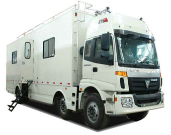 China FOTON  6x2 Outdoor Mobile Camping Truck With Living Room and Kitchen distributor