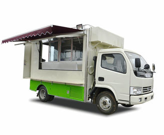 China Outdoor DFAC 4x2 / 4x4 BVG Mobile Food Truck For Army , Forces ,Troops Camping distributor