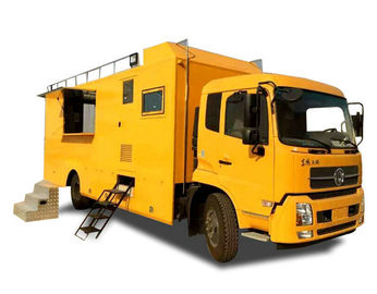 China King Run Mobile Kitchen Truck For Outdoor Engineering Project Camping Dining distributor