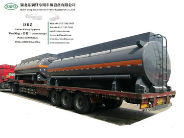 China Chemical Acid Tank Body Chemical Liquid Tanker Body with Container Locks Trailer Road Transport WhsApp:+8615271357675 distributor