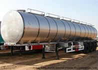 30cbm Bulk Beverage Tank Semi Trailer  With  Stailess Steel Tank  3 Axles