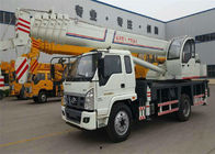 6 -8 Ton Hydraulic Truck Mounted Crane With 4 OutriggerTelescopic Boom 26M - 30M