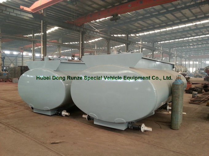 20ft Hydrochloric acid, Sodium hypochlorite Tank Containers Steel Lined PE 16mm
